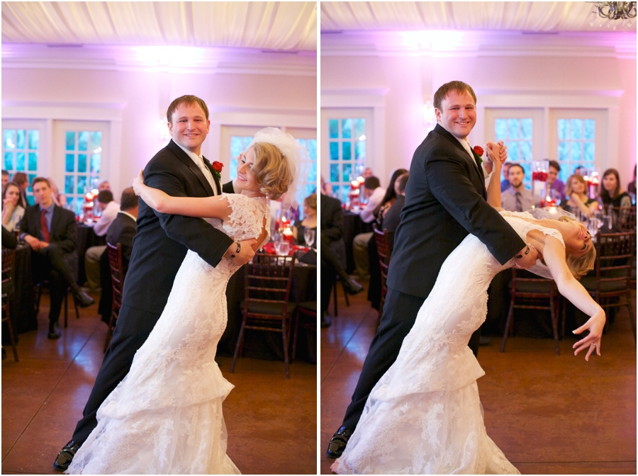 bride and groom dancing, southern wedding photography