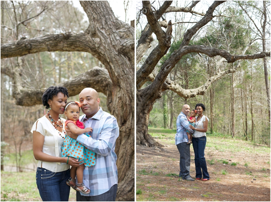outdoor family portraits, southern family photographers