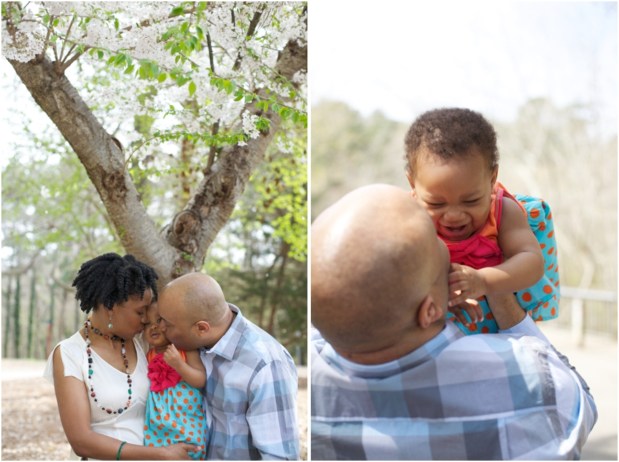 beautiful spring family portraits, southern family photographers