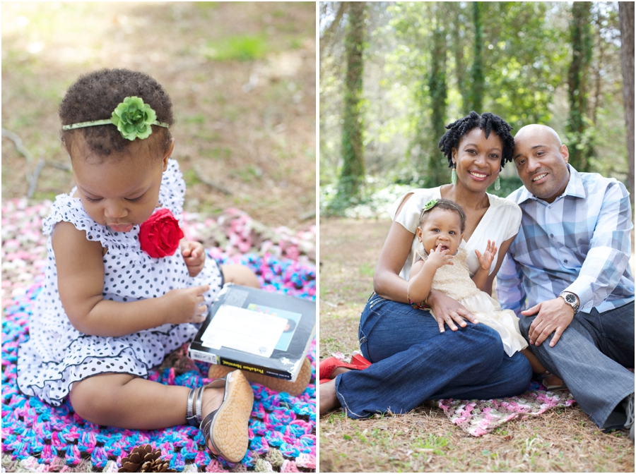 cute baby photography, southern family photography