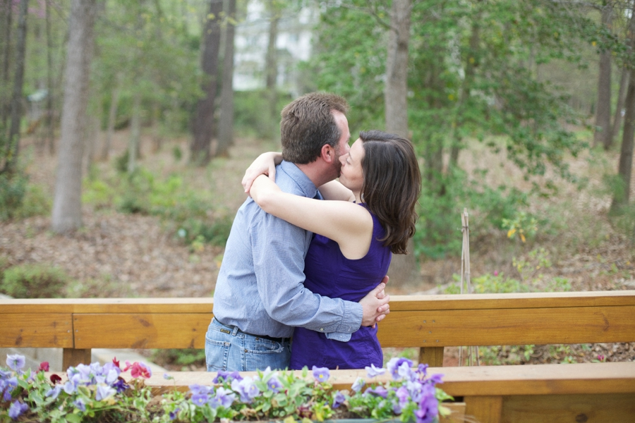 intimate southern engagement photography