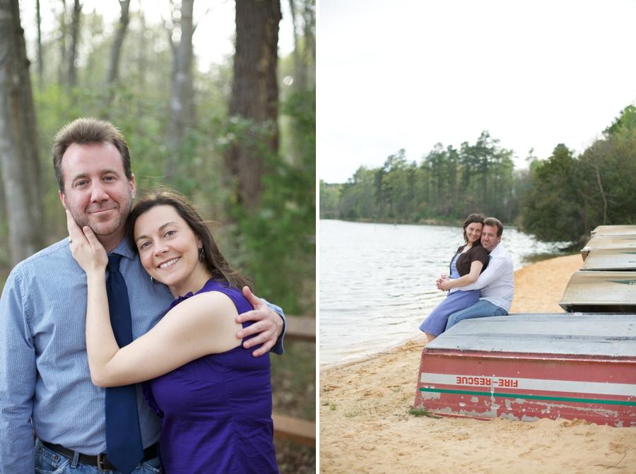 north carolina engagement photographer, waterside couples photography