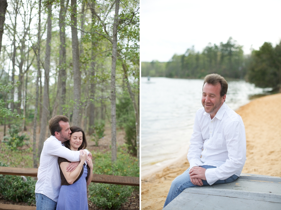 raleigh nc engagement photographer, waterfront engagement photography