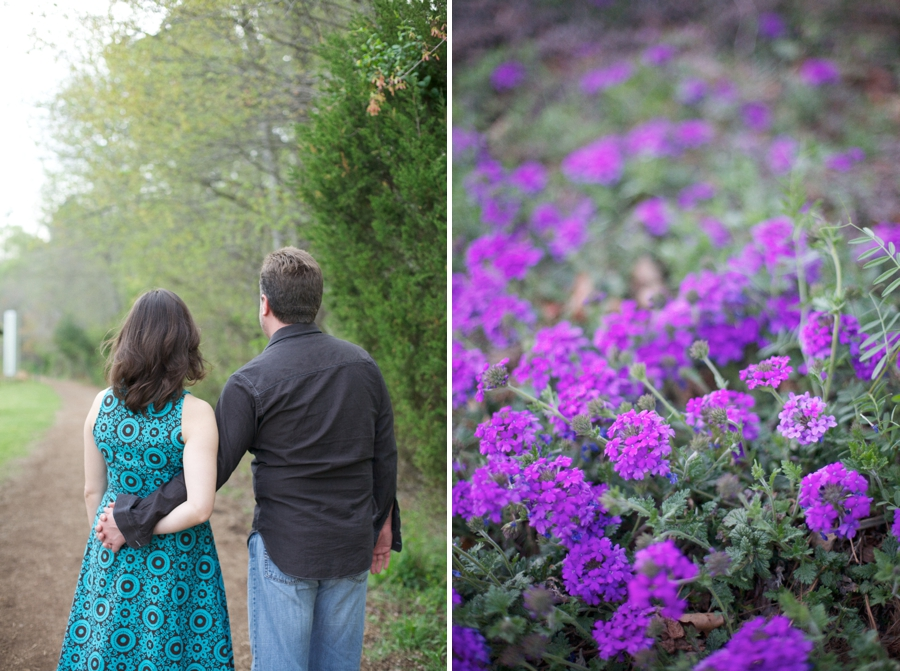 intimate engagement photography, spring photography