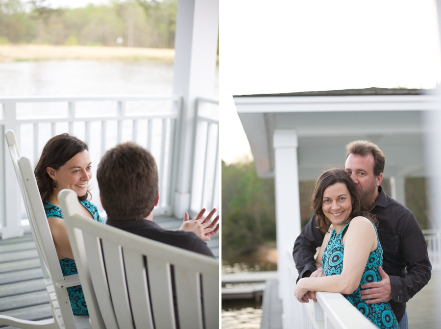 southern couples photography, vintage engagement photographer