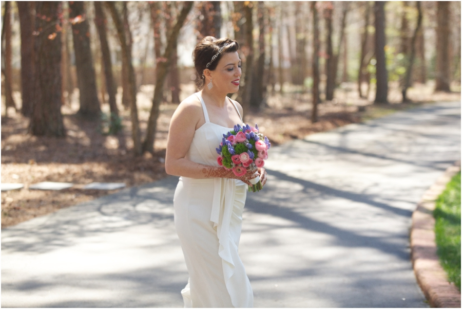 first look bridal, southern rustic wedding photographers