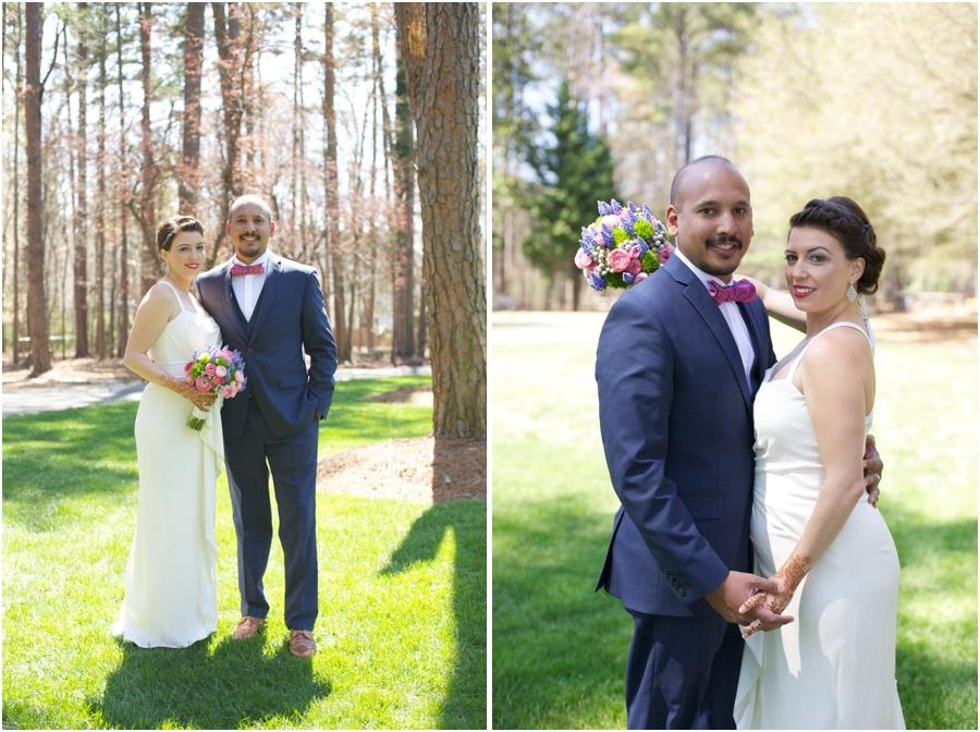 outdoor wedding portrait photography, best wedding photographer, raleigh nc