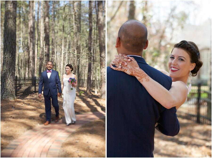 beautiful outdoor wedding portraits, southern rustic weddings