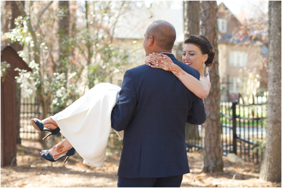 beautiful cultural wedding portraits, southern wedding photography