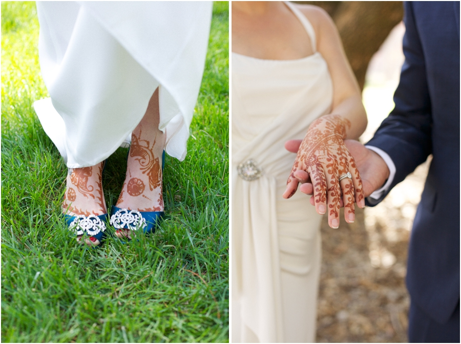 henna bridal tattoos, eclectic wedding photography