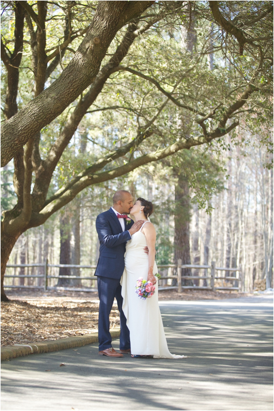 spring wedding portraits, southern rustic wedding photography