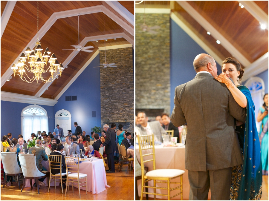 guests at wedding reception, southern wedding photographers