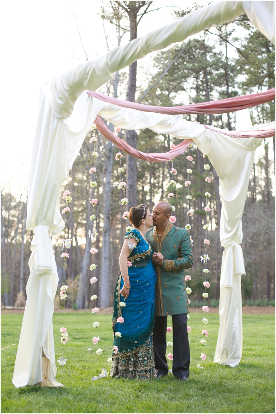 beautiful garden wedding photography, raleigh nc