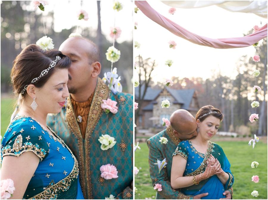 garden wedding portrait photography, southern wedding photographers