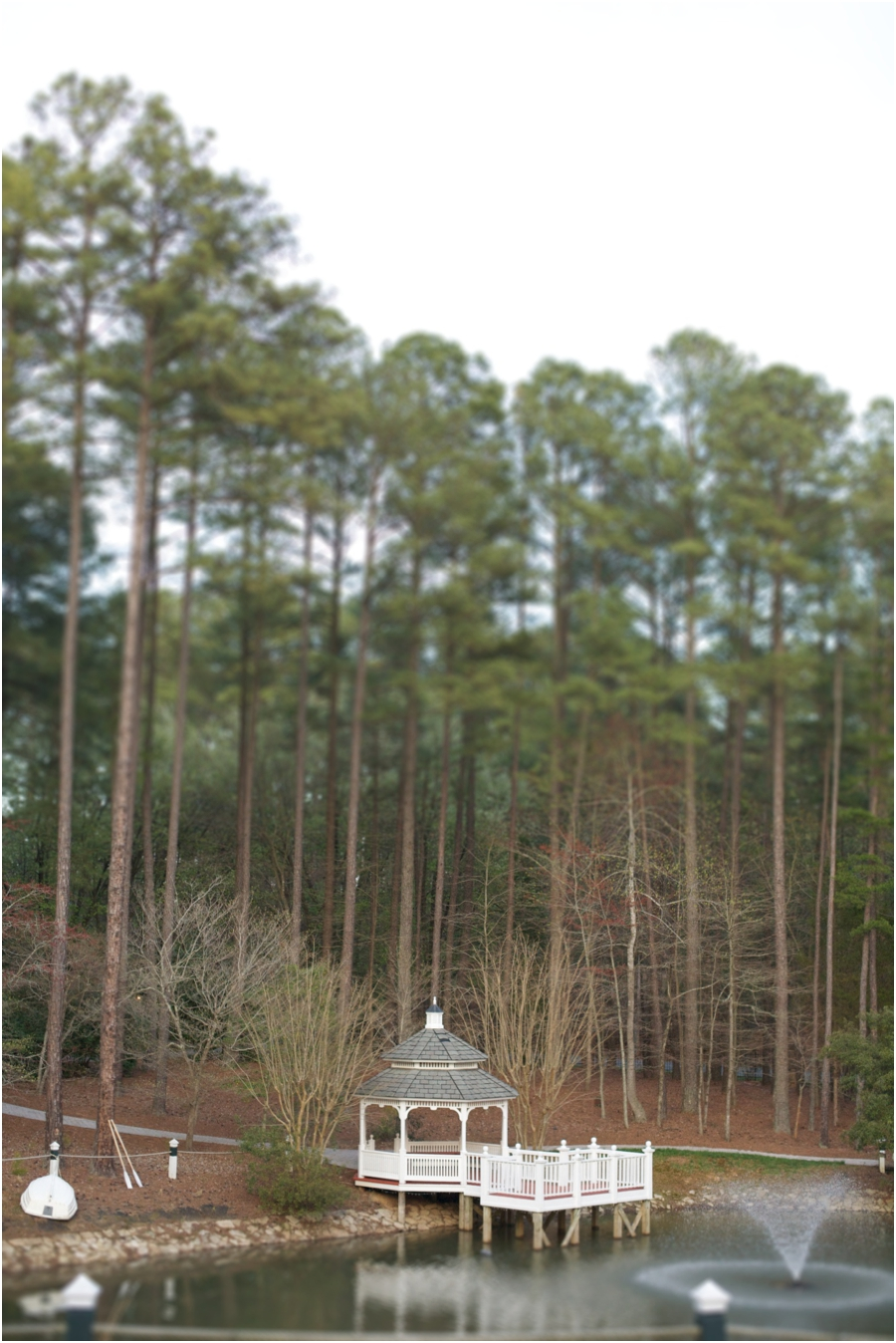 waterside gazebo and deck at outdoor wedding, southern wedding photographers
