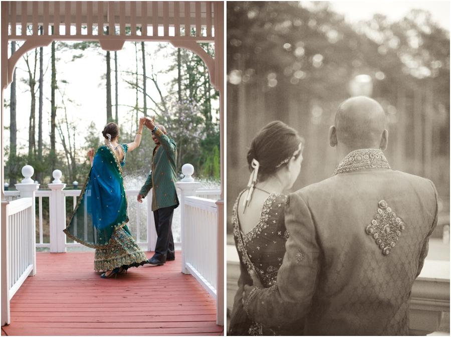 romantic indian wedding portraits, vintage wedding photographers