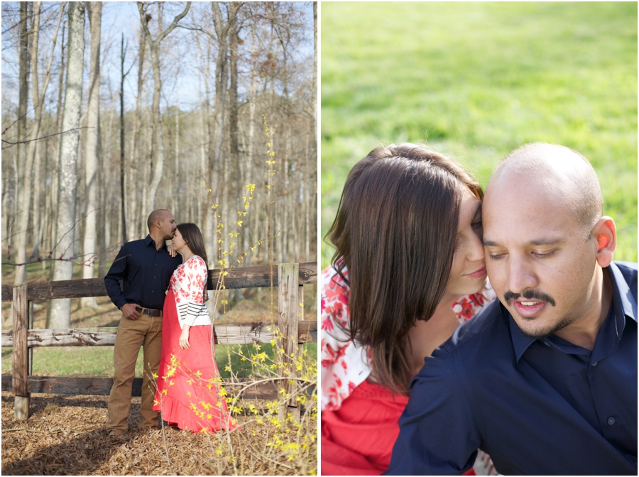 expectant couple's photography, southern engagement photographers, raleigh nc