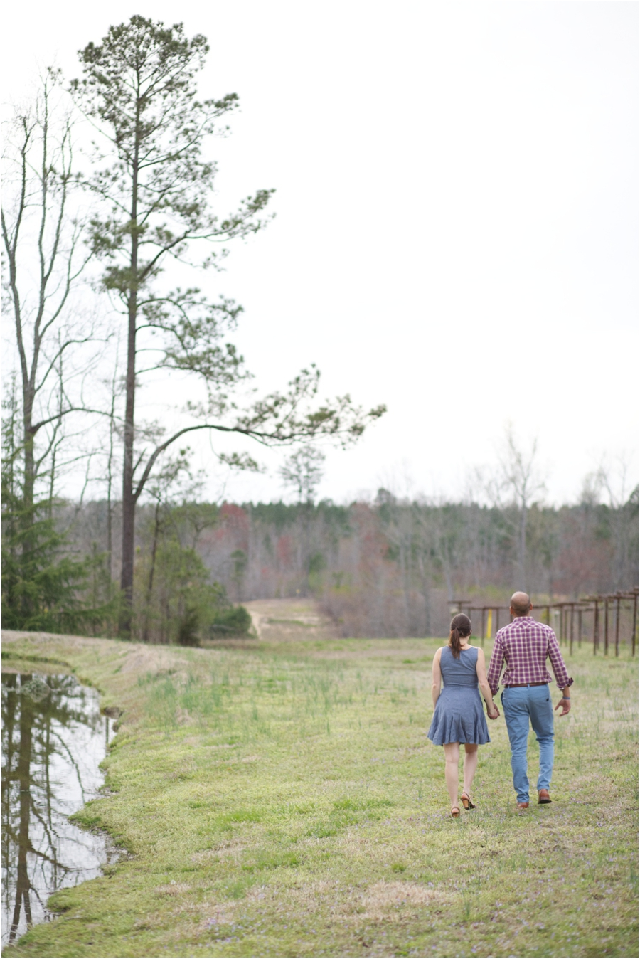 best outdoor engagement photography, raleigh nc