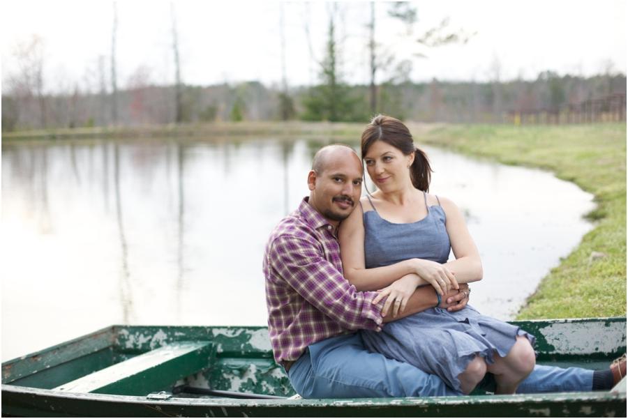 waterside engagement portraits, romantic couple's photography
