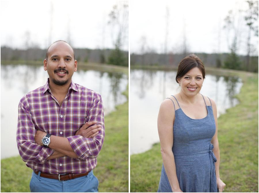 waterside portrait photography, vineyard engagement photographers, raleigh nc