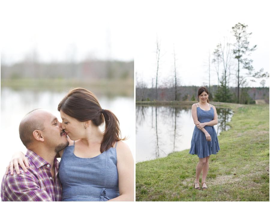 intimate engagement photography, raleigh nc vineyard portrait photographers