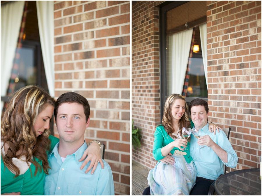 gregory vineyard engagement photography, southern engagement photographers