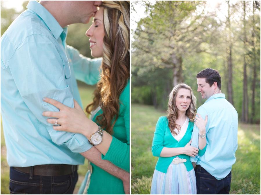 intimate engagement photographers, nc vineyard engagement photography