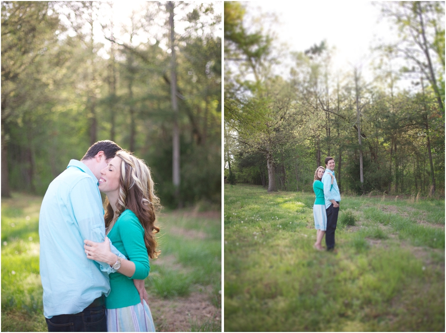 spring engagement photography, nc vineyard engagement photography