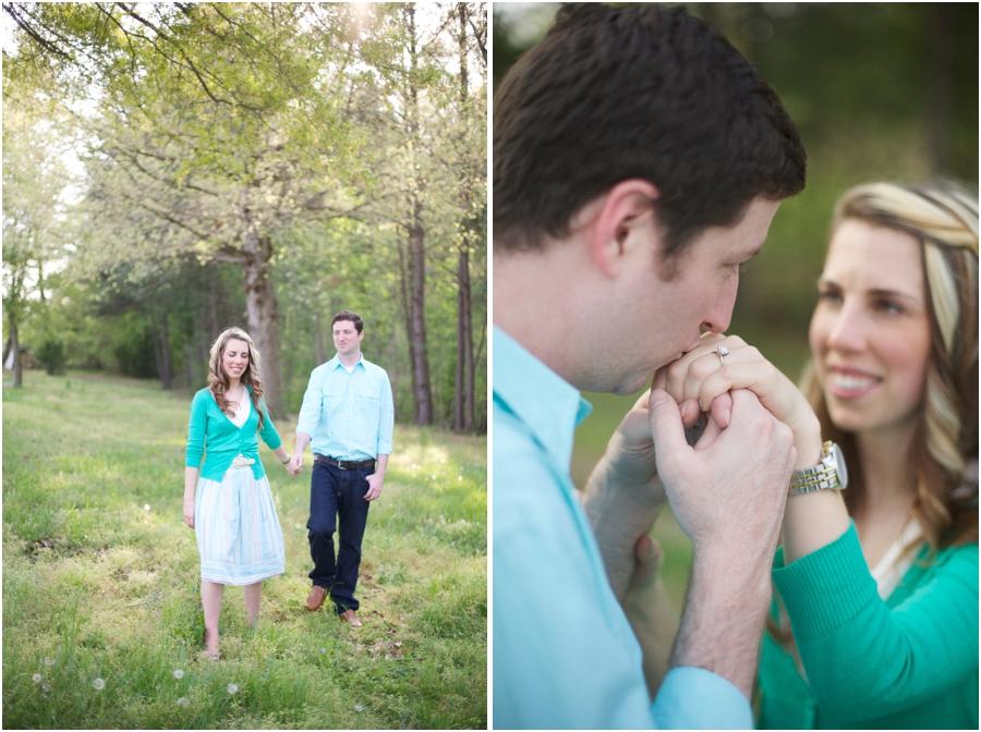 nc vineyard engagement photography, intimate engagement photographers