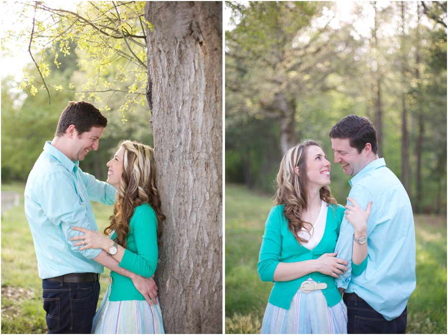 outdoor engagement photography, rustic engagement photographers