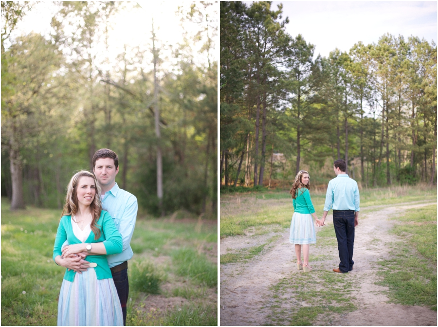 country engagement photography, nc vineyard engagement photography