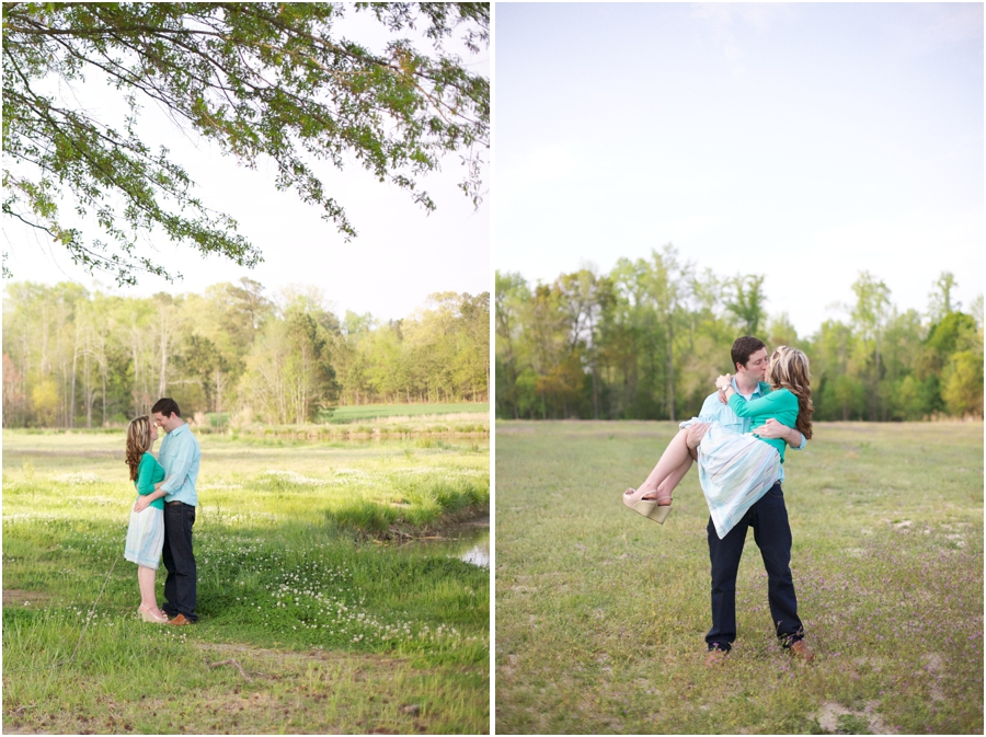 lake engagement photography, romantic raleigh engagement photography