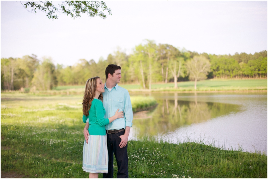 spring engagement photography, raleigh nc