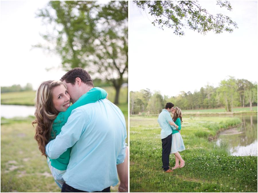 romantic engagement photography, lakeside engagement photographers