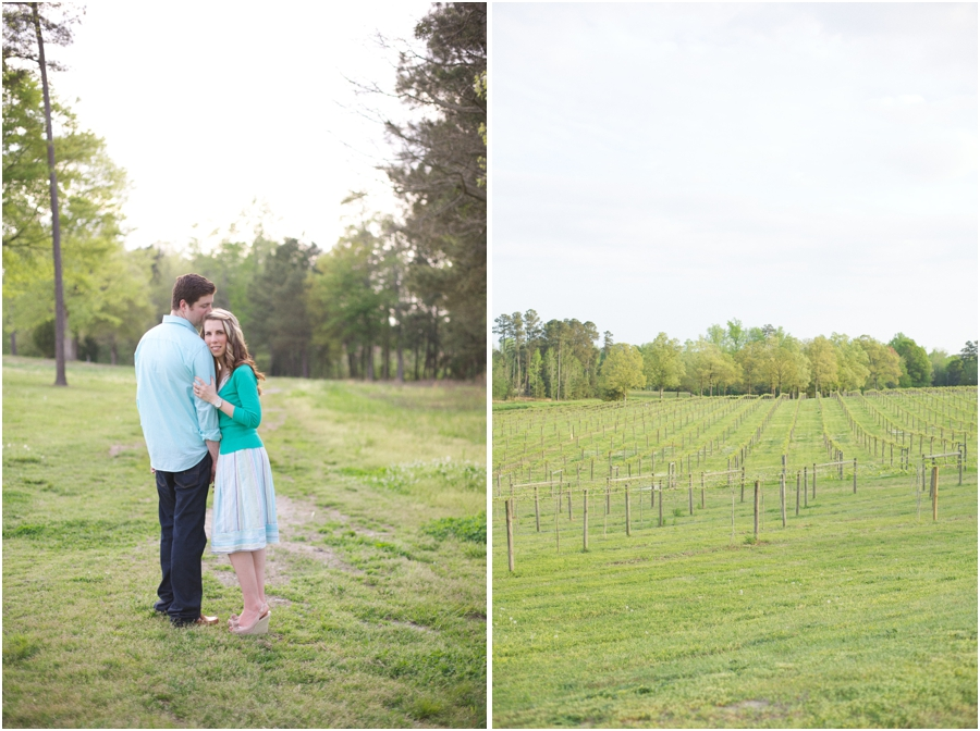 outdoor engagement photography, gregory vineyard engagement