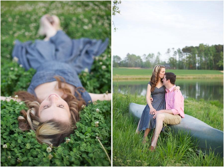 ethereal spring portrait photography, lakeside engagement photographers