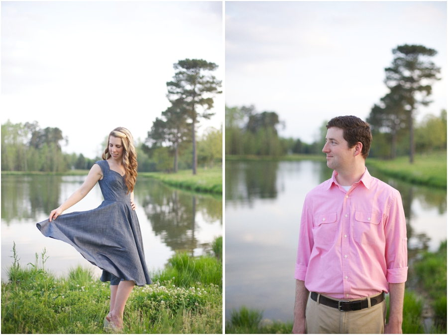 lakeside portrait photography, southern engagement photographers