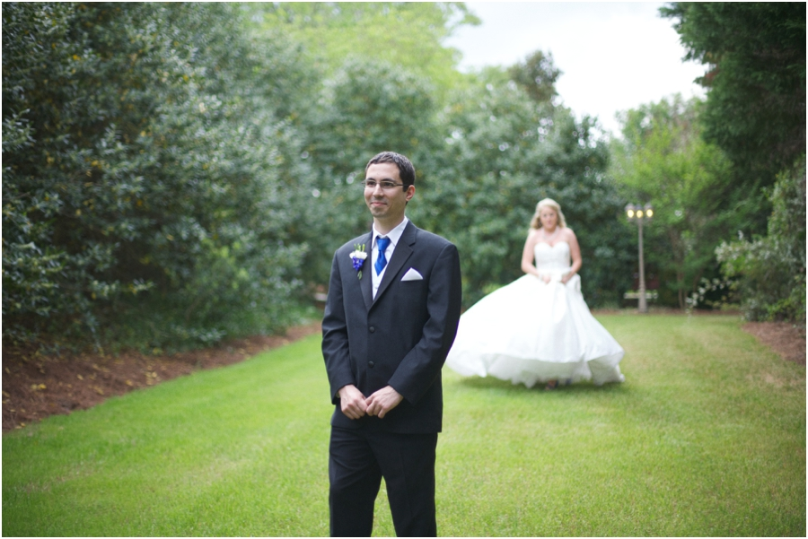 first look photography, romantic southern wedding photographers