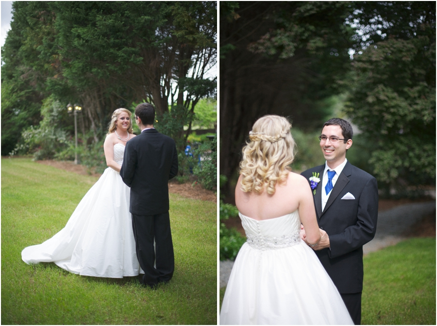 romantic garden wedding photography, southern wedding portraits