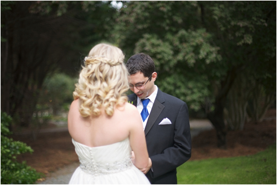 romantic first look photography, southern wedding photographers