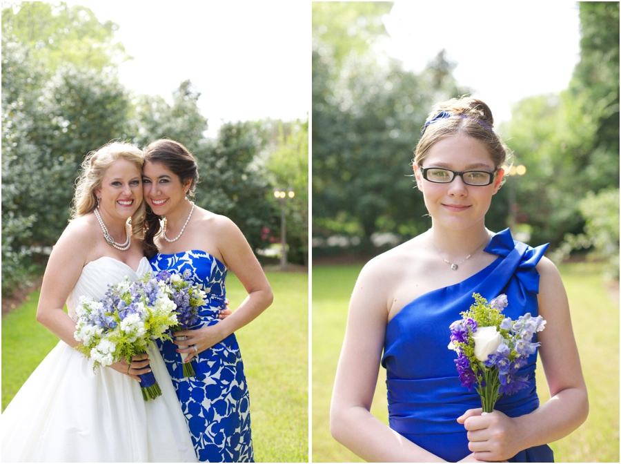 bride with bridesmaid, bridesmaid portraits