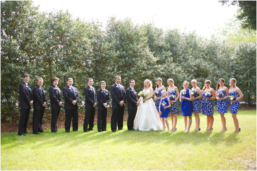 wedding party photos, southern wedding photographers