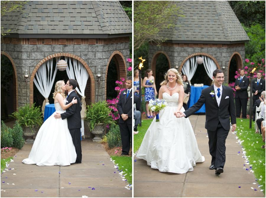 romantic garden wedding photography, southern wedding photographers