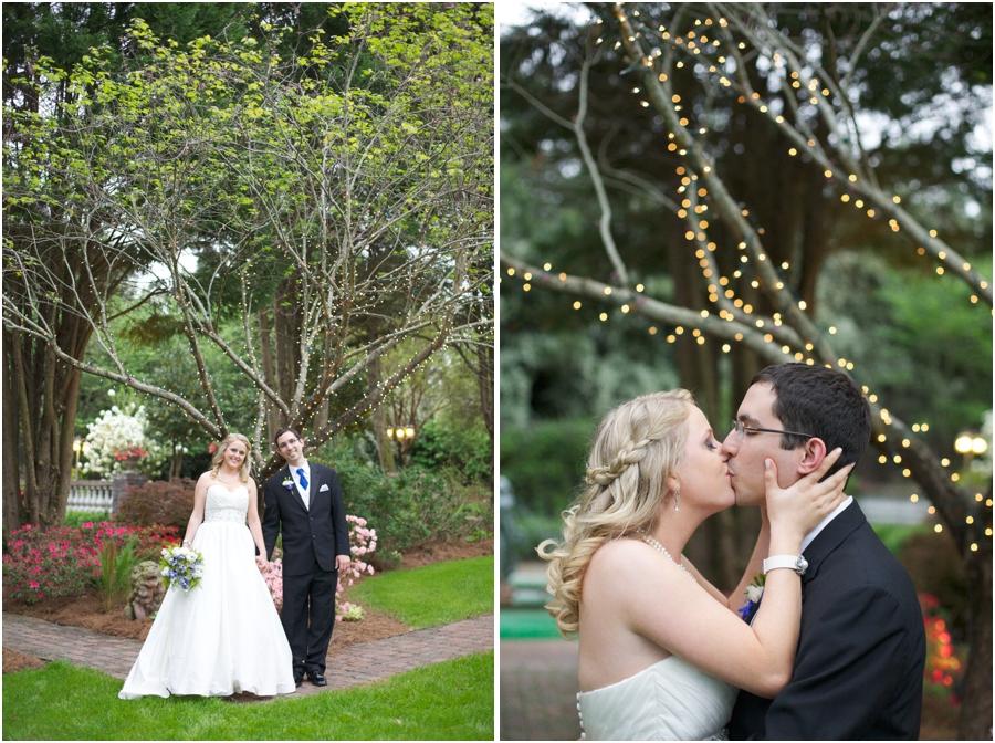 garden wedding photography, southern weddings