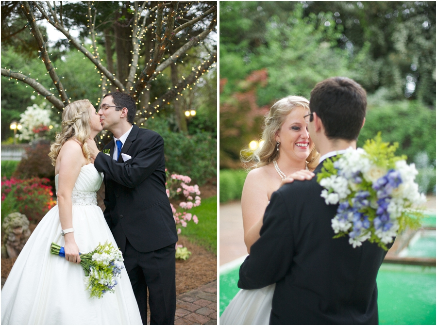 intimate garden wedding photography, southern wedding photographers