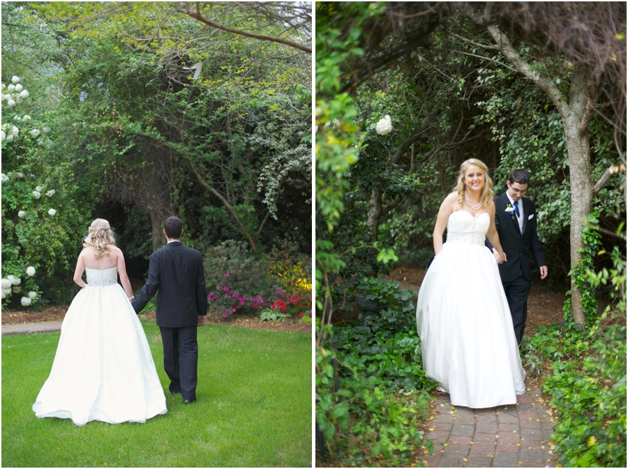 intimate garden wedding photography,romantic wedding portraits