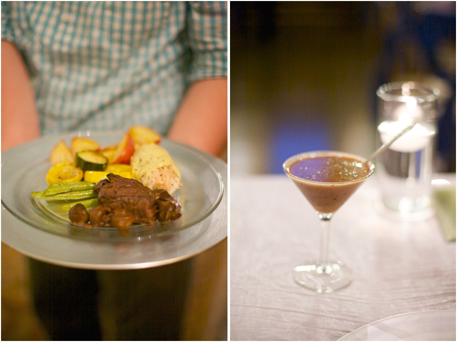 southern food served at wedding reception, raleigh nc wedding photographers