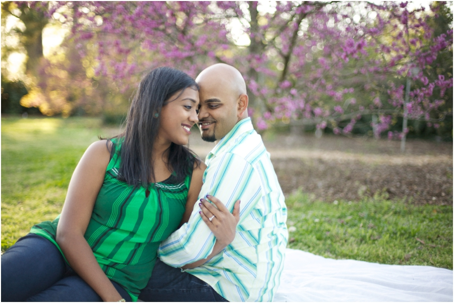 spring engagement photographers, raleigh nc