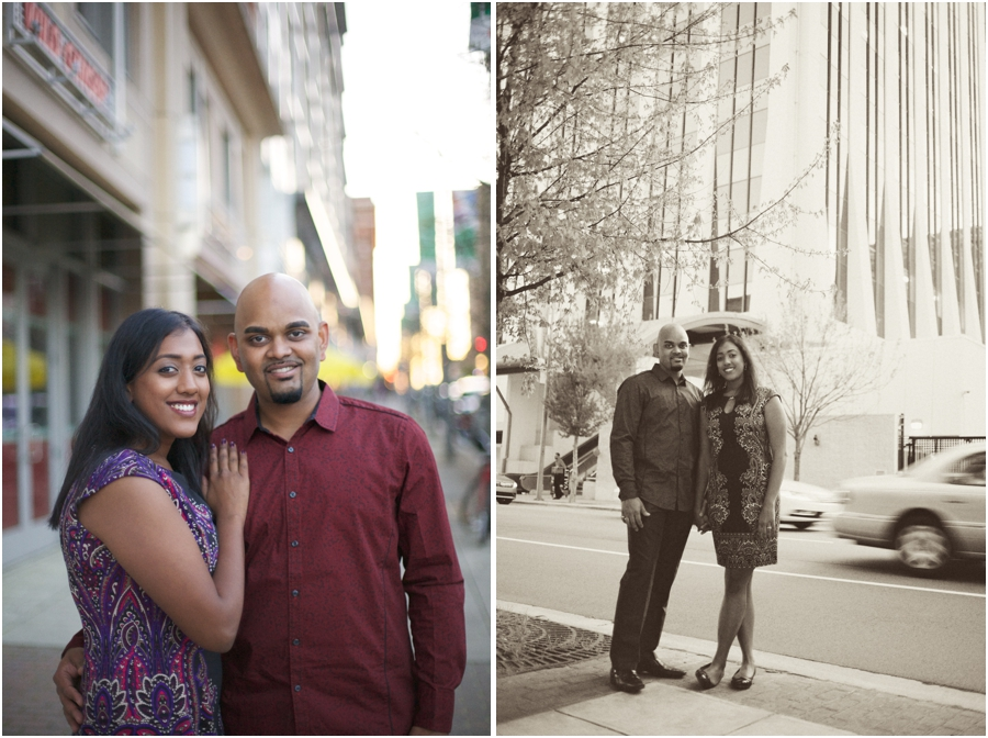 raleigh engagement photography, vintage engagement photographers