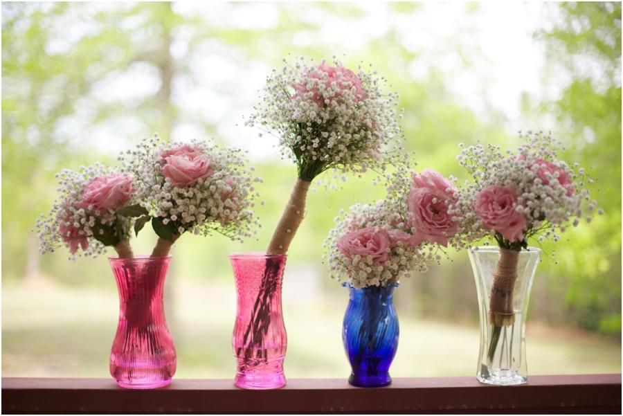 diy bridesmaids fresh floral bouquets , rustic diy bridal bouquets